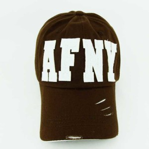 - AFNY New York Air Force Kahverengi Beyzbol Kep