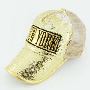 - New York Shining Golden Beyzbol Kep Şapka