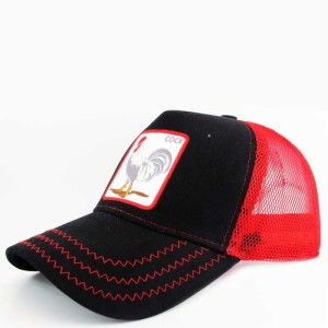 - Rooster Cock Siyah Trucker Kep-2